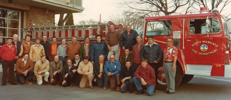 Old North Mankato Fire Department Group Photo
