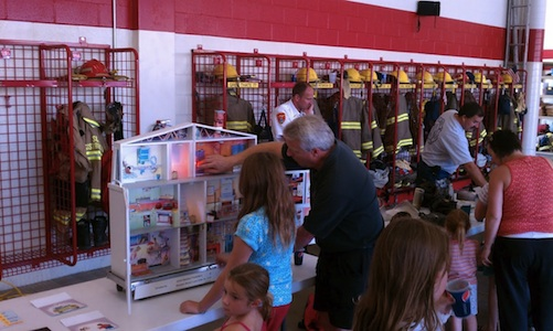 Fire Prevention Month October Open House at NMFD