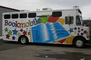 Taylor Library Bookmobile